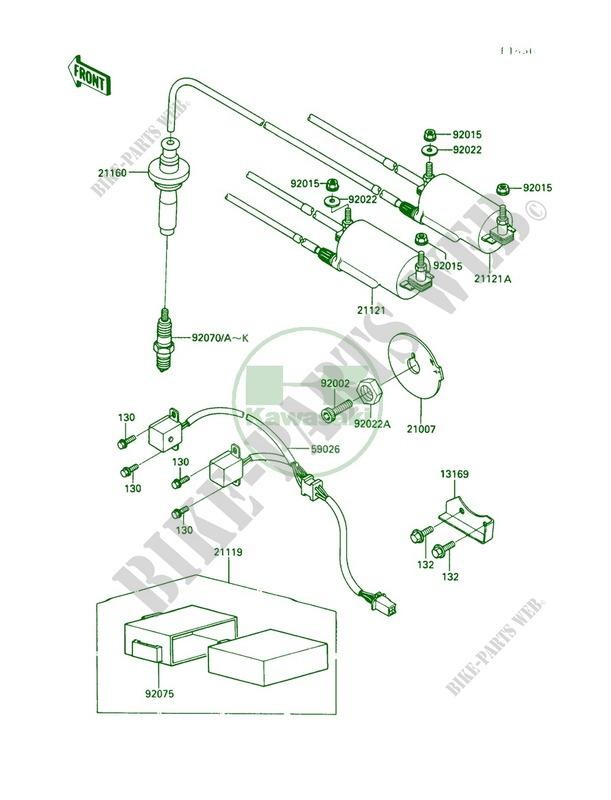 Kawasaki CAP-ASSY-PLUG 21160-1065