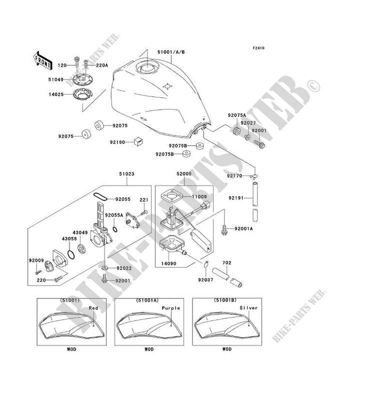 Kawasaki Klx110 Parts Wiring Diagram And Fuse Box