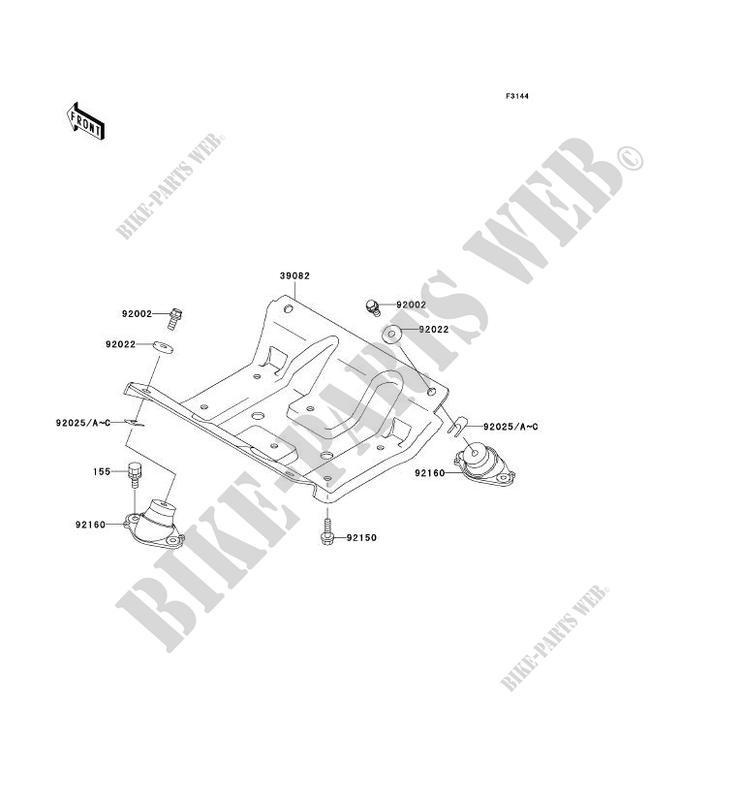 support moteur jt900 b2 jet ski 900 stx 2000 900 jet ski