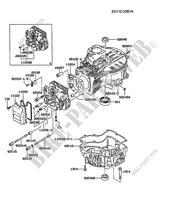 culasse carter moteur kawasaki fc motors fc420v fc fc420v as50 22535 pi ces d tach es d 39 origine. Black Bedroom Furniture Sets. Home Design Ideas