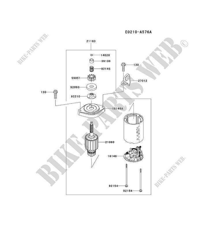 demarreur fs481v as50 fs motors fs481v fs petits moteurs