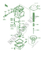 Carburetor Parts pour Kawasaki 454 LTD 1986