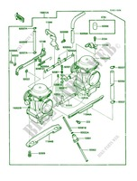 Carburetor pour Kawasaki 454 LTD 1986