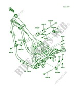 Frame Fittings pour Kawasaki 454 LTD 1986